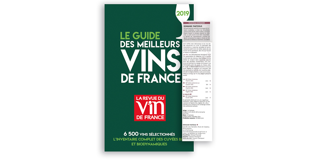 Domaine Paetzold Rvf Guide Vert Medaille